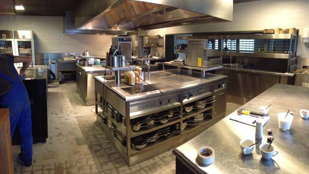 Keuken Design Maastricht : Keukenvloer maastricht bij restaurant beluga geplaatst in dag