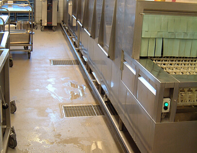 Horeca Vloeren Keuken : Keukenvloer keukenvloeren gietvloer betonlook vloer