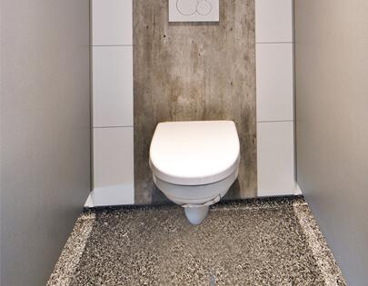 vloer toilet