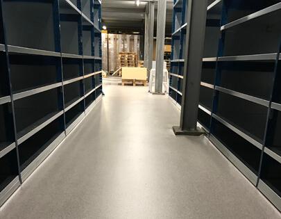 magazijn vloeren