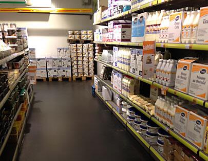 supermarktvloer