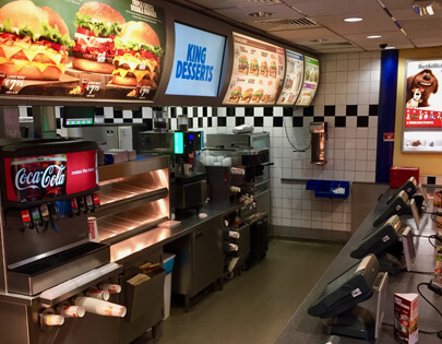 Keukenvloer Rotterdam Burger King