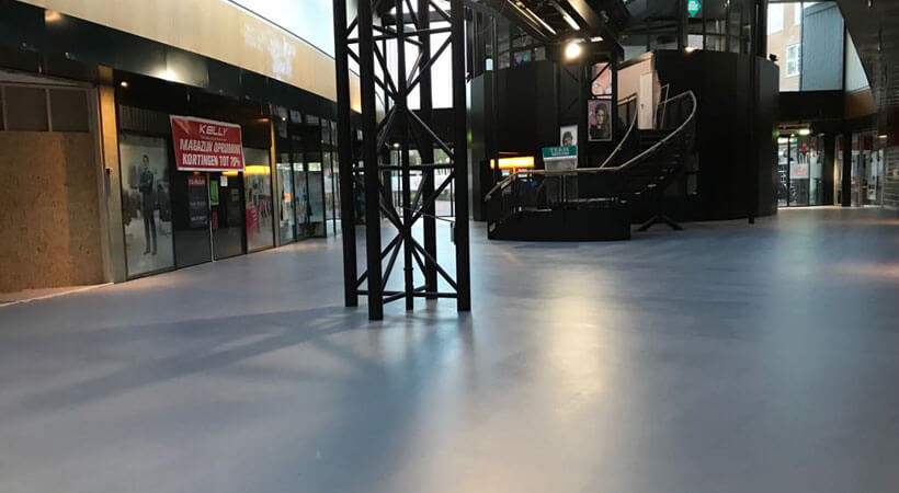 vloer winkelcentrum